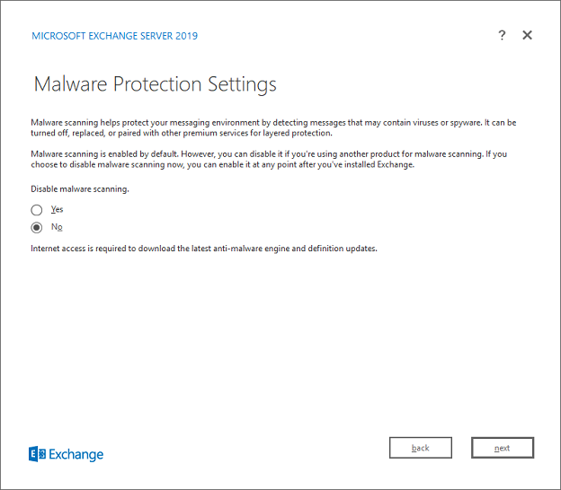 Enable Malware Agent