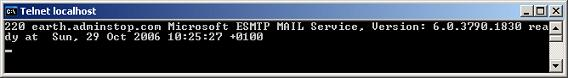 SMTP Connection