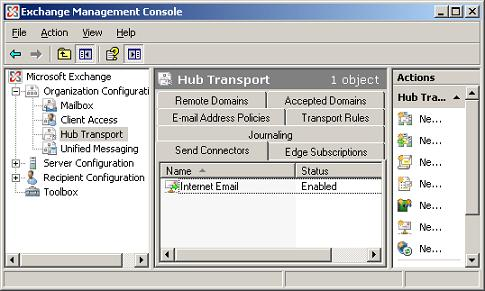 SMTP Connector from Exchange 2007