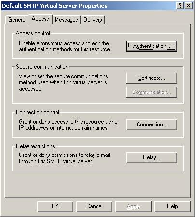 exchange server how to find your smtp server name