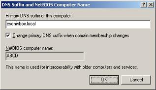 DNS Suffix