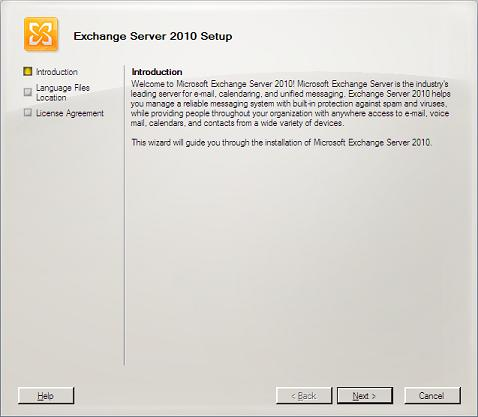 Exchange 2010 Introduction