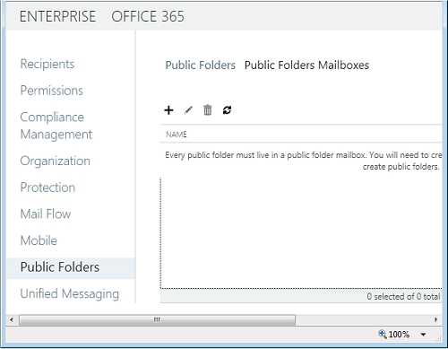 Exchange 2013 | Public Folders | Public Folders Mailboxes