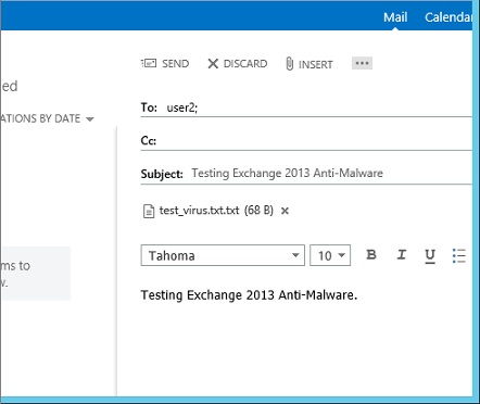 Test Malware Email
