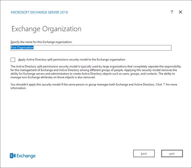ExchangeInbox com - Exchange 2019 Installation Screenshot